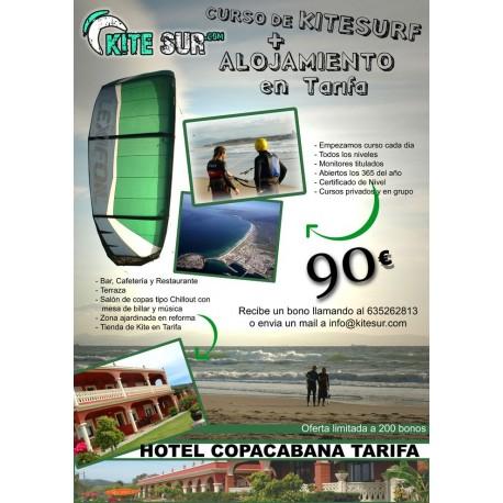 Curso mas alojamiento en Tarifa