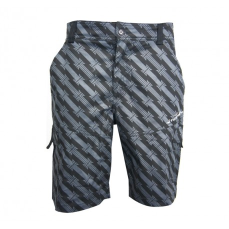PANTALON CORTO-'Jack' Shorts - Dark Grey