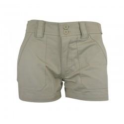 Pantalones-'Adva' Shorts - Beige