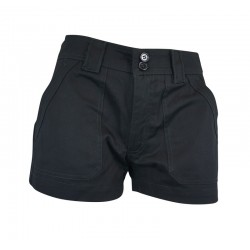 Pantalon-'Adva' Shorts - Black