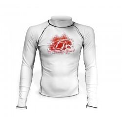 LYCRA-'2Kites' Rash Vest White