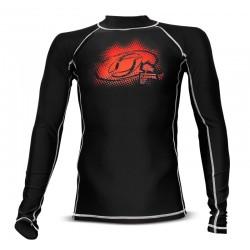 LYCRA-'2Kites' Rash Vest Black
