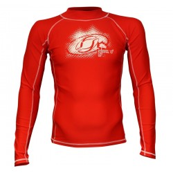 LYCRA-'2Kites' Rash Vest Red