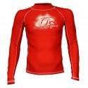 LYCRA-'2Kites' Rash Vest Red
