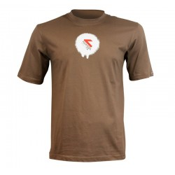 CAMISETA - 'Spray' Chocolate