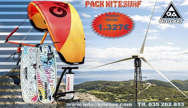 Pack Kitesurf Ga-kite 2018