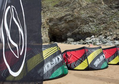 Alquiler de material surf y kitesurf