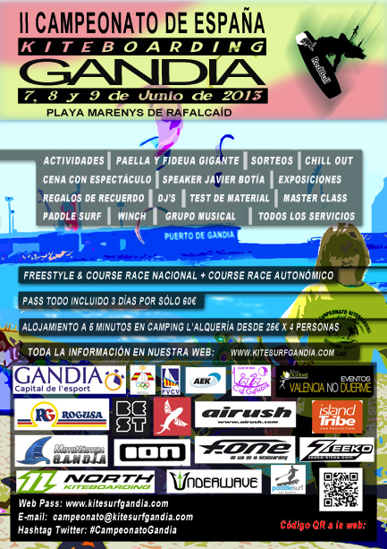 Campeonato de España de Kitesurf en GANDIA